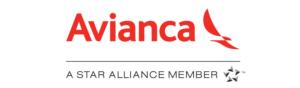 Logo AVIANCA (Star Alliance) Red